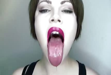 Pale girl is ready to suck your dick