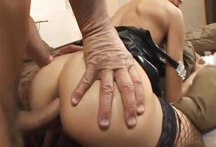 Französische Putzfrau