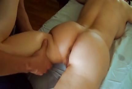 Hot mommy and massage