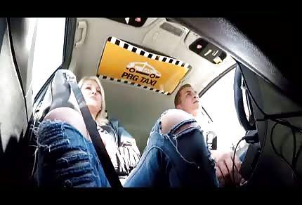 Sex in einer Taxi