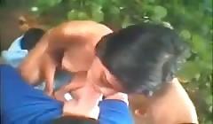 Bzykanko w lesie