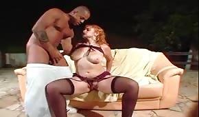 Scharfe Tussi hat Lust auf Sex
