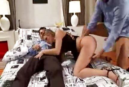 Katy Caro likes group sex very much