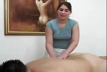 Massage and hand job