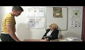 Fucking with his teacher