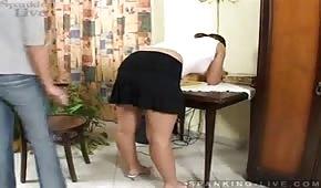 Sekretara wypieła swoją dużą dupe