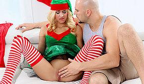 Mikołaj i słodki elf