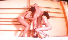 Three fit girls