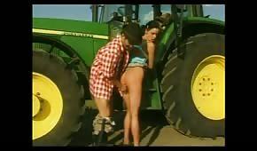 Z wizytą na polu i farmera Zbycha