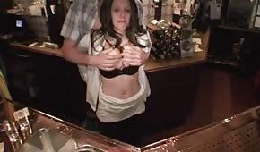 Fucking in the pub