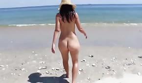 Dupeczka na plaży