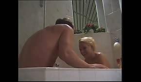 Sex s blondýnkou