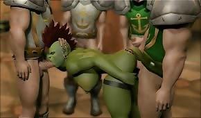 Porn in Wolrd of Warcraft