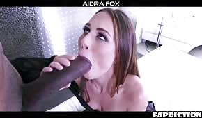 Sharp rags horny on black cocks