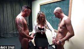 Ostre porno z gorącą nauczycielką