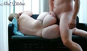 Seks na śpiocha z blond babeczka
