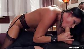 Robi co chce z dojrzałą porno gwiazdą